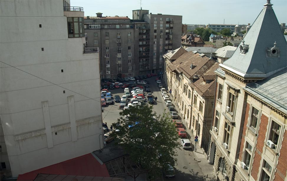 daytime view in Bucharest