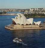 Symbol of Australia, the Sydney Opera house