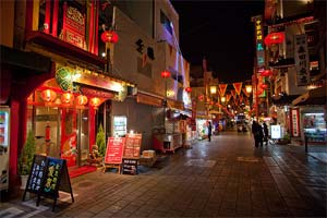 erstaurants and shops in Kobe