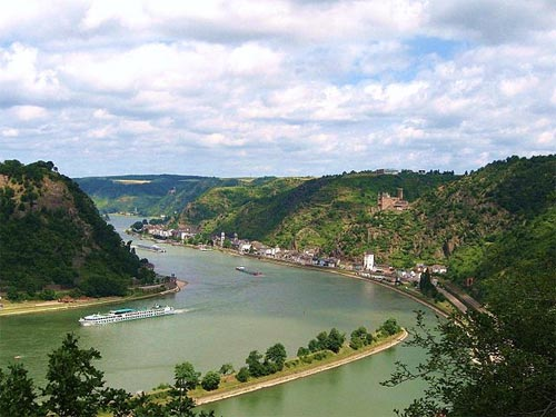 Loreley river