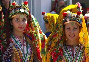 Dancers in Bulgaria